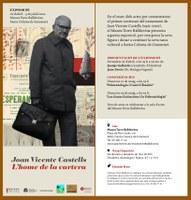 """Exposición """"Joan Vicente Castells, l'home de la cartera"""""""